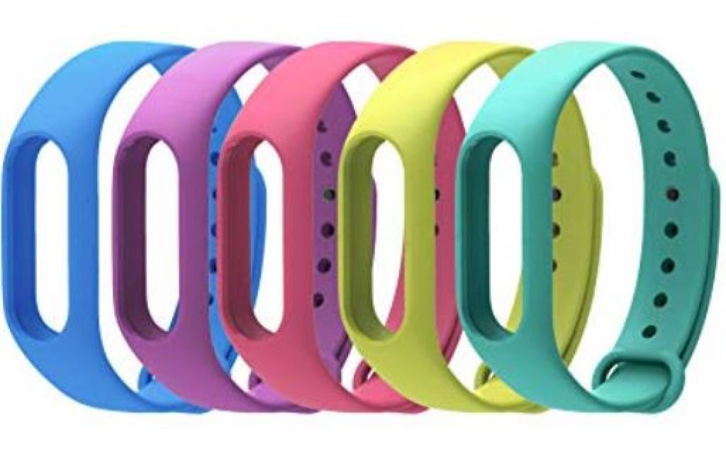 pulsera inteligente xiaomi band 2 correas de colores